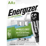 2 Piles Rechargeables AA / HR6 2300mAh Energizer Extreme