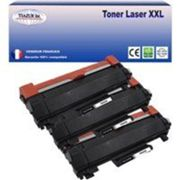 3 Toners compatibles Brother TN2420 pour Brother MFC L2730DW, L2750D, L2750DW (avec puce)-3000 pages-20f PPA6-T3AZUR