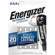4 Piles Lithium AAA / LR03 Energizer Ultimate Lithium