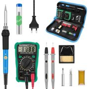 60W Numerique 200-450 ¡æ Temperature Reglable De Fer A Souder Electrique Kit Multimetre Dessouder Pompe Professionnelle Soudure Tool Set Simple