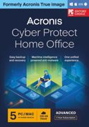 Acronis Cyber Protect Home Office Advanced 2022  5-PC   1-An   250 GB cloud back-up