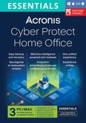 Acronis Cyber Protect Home Office Essentials 2022   3-PC   1-an   Mobile/Tablet incl.