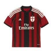 Adidas Adidas Maillot de Match Home Football Milan Enfant 14/15 RED / BLACK 16 ANNI
