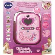 Agenda électronique Vtech Kidisecrets Selfie Music Rose