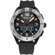 "ALPINA WATCHES Montre outdoor Alpinerx Black/grey Homme Noir ""Unique"" 2020"