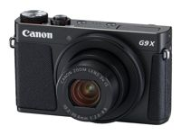 Appareil photo numérique Compact - Canon PowerShot G9 X Mark II - 20.1 MP - 1080p / 60 pi/s - 3x zoom optique - Wi-Fi, NFC, Bluetooth - noir