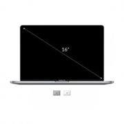 """PC portable Apple Computer Int. N16 apple macbook pro 16"""" i7 2,6ghz/16gb/512gb/radeon pro 5300m/touch bar/silver *new*"""