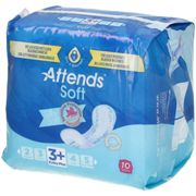 Attends® Soft 3 Extra Plus bandage(s) 10 pc(s)