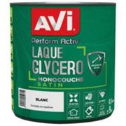 AVI Laque glycéro Perform Activ satin 0.5 L - blanc