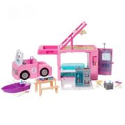 Barbie Camping-Car De Reve 3-En-1 - 55 Cm
