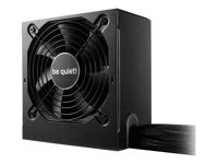 be quiet! System Power 9 500W - Alimentation électrique (interne) - ATX12V 2.4 - 80 PLUS Bronze - CA 200-240 V - 500 Watt - PFC active - noir