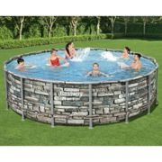 Bestway Ensemble de piscine Power Steel 488x122 cm