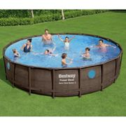 Bestway Ensemble de piscine Power Steel 549x122 cm