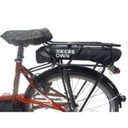 Bikers Own Case4 Rain Carrier Battery Cover For Bosch Powerpack 300/400 One Size Black