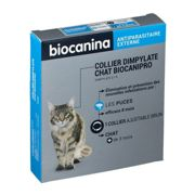 Biocanina Collier insecticide BIOCANIPRO pour chat collier(s) 1 pc(s)