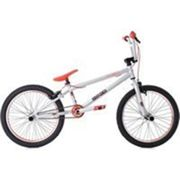 Bmx freestyle 20'' twentyinch argent-rouge ks cycling