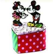 Boite de collection mickey et minnie by romano britto