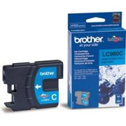BROTHER Cartouche d'encre Cyan - LC980C