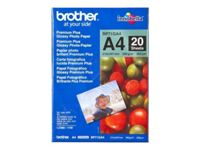 Brother Innobella Premium Plus BP71GA4 - Papier photo brillant - A4 (210 x 297 mm) - 260 g/m² - 20 feuille(s) - pour Brother DCP-J567, J785, J983, MFC-J5620, J5820, J6530, J6930, J730, J830...