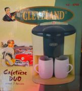 Cafetiere Duo Cleveland & ses tasses assorties