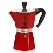 Cafetière Italienne 6 Tasses Rouge 0004943 Moka Color