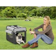 Cage de transport pliante en Cordura pour chien ou chat - Smart Top Cage Smart Top | Type : Intermedaire 79 x 61 x 56 cm