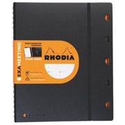 Cahiers Rhodiactive Exameeting rechargeables A4+ blanc ligné 22 x 29,7 cm - 160 pages