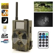 Cam?Ra Infrarouge Gsm Chasse Gibier Full Hd 1080p D?Tecteur Mouvement