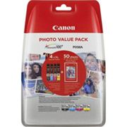 CANON CLI-551XL - Multipack Photo 4 couleurs