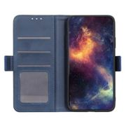 Casecentive Magnetic Leather Wallet case Galaxy A71 bleu