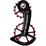 CeramicSpeed OSPW System SRAM Red-Force AXS - Rouge - Coated, Rouge
