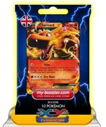 Charizard Ex (Dracaufeu) 11/106 180hp Xy 2 Flashfire (Etincelles) - Booster De 10 Cartes Pokemon Anglaises My-Booster