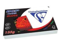 Clairefontaine Dcp Coated Gloss - Papier Glacé Couché Recto Verso - Blanc - A3 (297 X 420 Mm) - 200 G/M² - 250 Feuille(S)