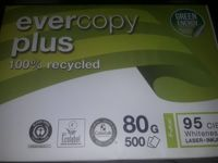 Clairefontaine Recycling Druckerpapier Evercopy+ 50048C DIN A4 80 g/m² 500 feuille