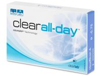 Clear All-Day (6 lentilles) -3.75