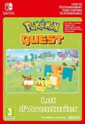 Code de téléchargement Pokémon Quest Expedition Pack Lot d'Aventurier Nintendo Switch