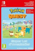 Code de téléchargement Pokémon Quest Great Expedition Pack Lot d'Aventurier Nintendo Switch