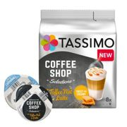 Coffee Shop Selections Toffee Nut Latte pour Tassimo. 16 Capsules
