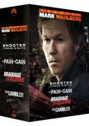 Coffret Mark Wahlberg : No Pain No Gain + The Gambler + Shooter + Braquage À L'italienne - Pack