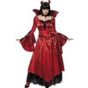 Costume tentatrice du diable tl rouge