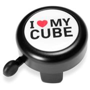 Cube Sonnette I Love My Cube One Size Black