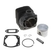 Cylindre adaptable 52mm gros cube Husqvarna 362, 371 et 372 admission ronde