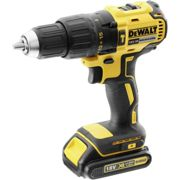 DeWalt - Perceuse visseuse à percussion à batterie 18V Li-Ion 2x1,5Ah - DCD778S2T