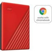 Disque Dur Externe Western Digital My Passport 2 To Rouge Rouge