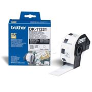 D'origine Brother DK-11221 étiquettes 23mm x 23mm, contenu: 1000 - remplace Brother DK11221 labels