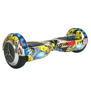 Eleyooner Hoverboard Graffiti Gyropode Hip-Hop Skateboard Electronique Multicolore