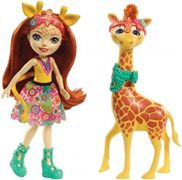 ENCHANTIMALS - Coffret Gillian Girafe & Pawl