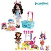 Enchantimals Pack 3 poupées + picnic 47x21
