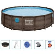 Ensemble de piscine Power Steel 488x122 cm - Bestway