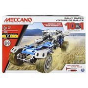 Erector By Meccano 10 In 1 Rally Racer Model Vehicle Building Kit, Stem Education Toy For Ages 8 Up